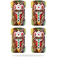 Skin For DJI Inspire 1 Drone Battery (4 pack) – Tiki Man | MightySkins Protective, Durable, and Unique Vinyl Decal wrap cover | Easy To Apply, Remove, and Change Styles | Made in the USA