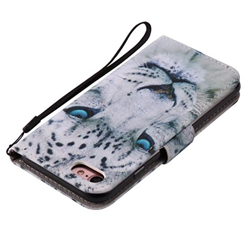 COWX iPhone 8 Hülle Kunstleder Tasche Flip im Bookstyle Klapphülle mit Weiche Silikon Handyhalter PU Lederhülle für Apple iPhone 8 Tasche Brieftasche Schutzhülle für Apple iPhone 8 schutzhülle