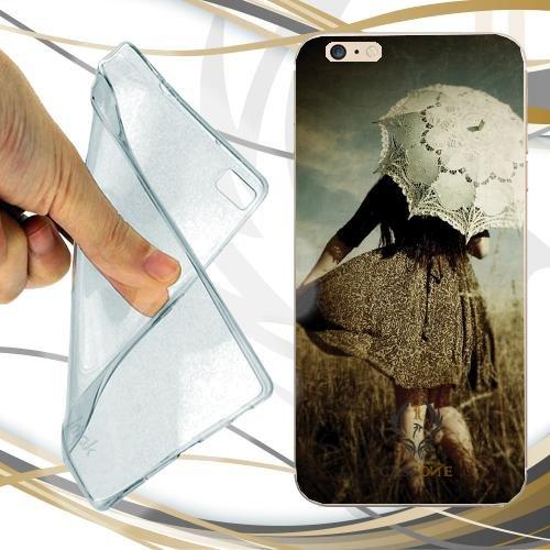 CUSTODIA COVER CASE VINTAGE GIRL PER IPHONE 7