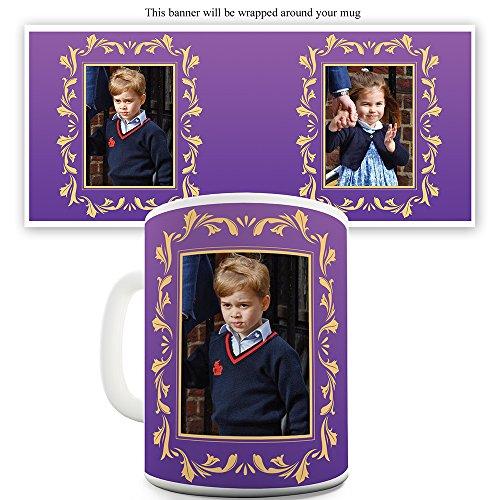 - Prince George and Princess Charlotte 15 OZ Ceramic Mug