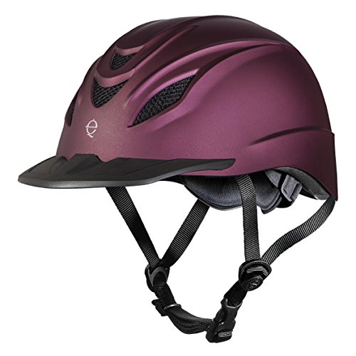 Purple Riding Helmet - 4
