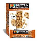 KIND Protein Bars, Crunchy Peanut Butter, Gluten Free, 12g Protein,1.76oz, 12 count Review