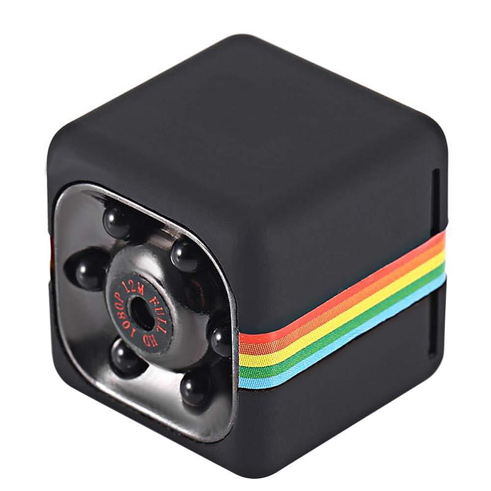 Mini Spy Hidden Camera Portable Small HD Nanny Cam 1080P HD & Motion Detection &Night Vision Perfect Indoor Covert Security Camera for Car, Drone, Office, Camaras para Casas