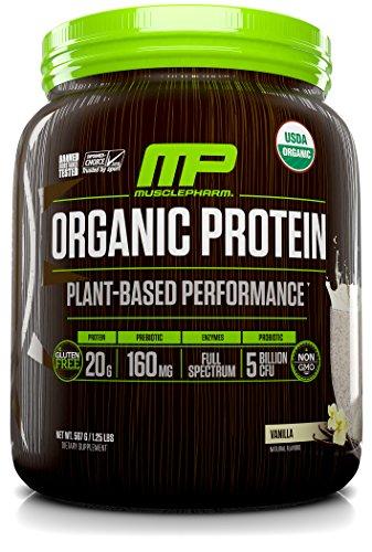 Muscle Pharm Plant Based Organic Protein Vanilla, 15 Serv...