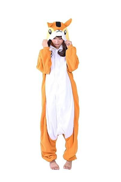 Fandecie Animal Costume Animal Traje Pijamas Pijamas Jumpsuit Kigurumi Mujer Hombre Cosplay Adulto para Carnaval Animal