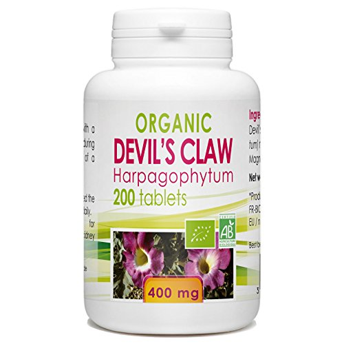 Devil's Claw Harpagophytum - 200 Tablets 400 Mg