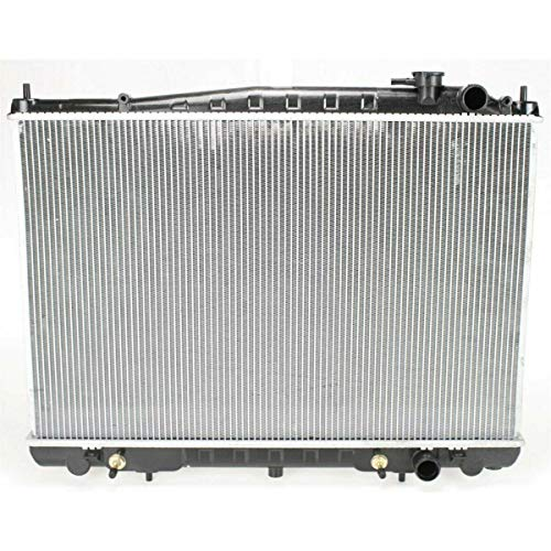 New Radiator For 1999-2004 Nissan Frontier 3.3 Liter V6 Supercharged, Plastic And Aluminum -
