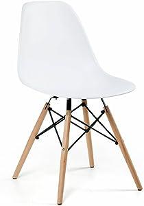 Artefama Furniture Eiffel Dining Chair, White