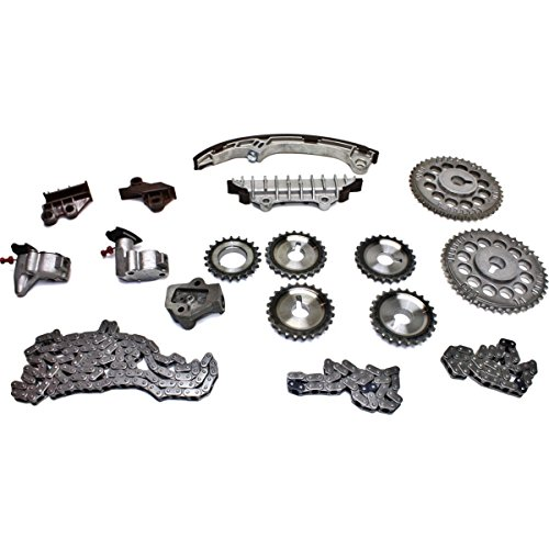 Diften 308-A2409-X01 - NEW Infinity I30 For Nissan Maxima 3.0 VQ30DE Timing Chain Kit