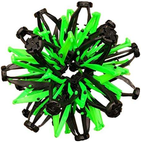 Fallve 伸縮ボール 伸縮ボール玩具 投げる カラーボール ハニカムボール 減圧おもちゃ ストレス解消 子供おもちゃ