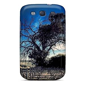 Galaxy Case - Tpu Case Protective For Galaxy S3- Old Tree At Horizon by mcsharks