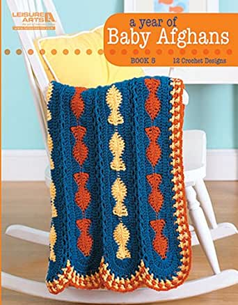 A Year of Baby Afghans, Book 5