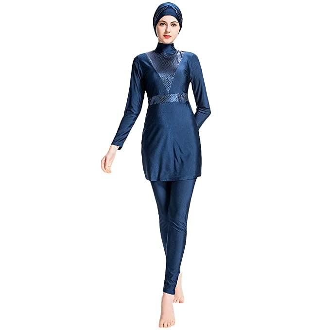 many choices of new style of 2019 new list Randolly Women's Swimwear, Muslim Conservative Bathing Suit ...