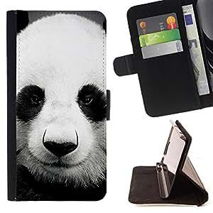 Pattern Queen - Panda Cute Bear Animal - FOR Samsung Galaxy S5 Mini, SM-G800 - Hard Case Cover Shell