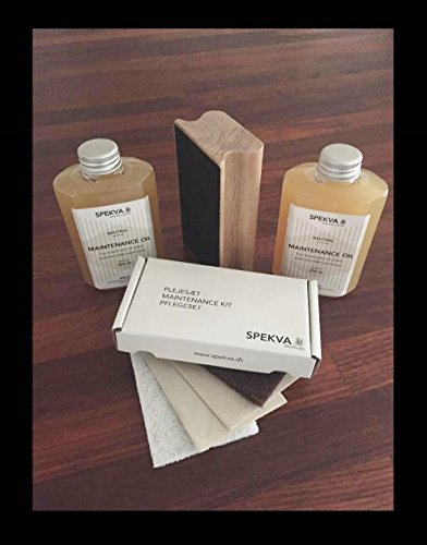 Spekva Neutral Oil 16oz Kit (Best Oil For Wooden Kitchen Worktops)