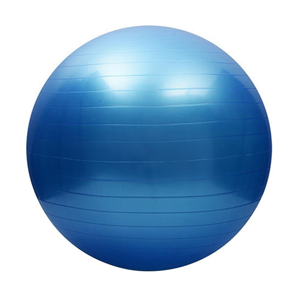 Trendyest Fitness Yoga Ball Utility Rutschfeste Pilates Balance Ball Sport Fitball Blau