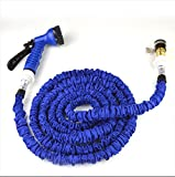 ZLJTYN Car Wash Water Gun Telescopic Hose Set Household High Pressure Brush Vehicle Tool Supplies Water Rush Rush Car Flower Watering Artifact,22.5 Meters