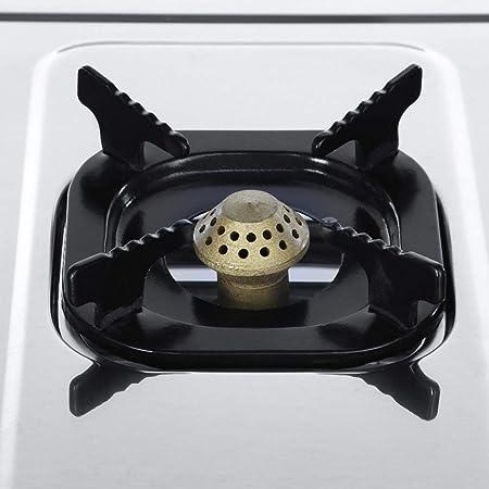 Encimera de Gas 3 Fuegos 71 x 36 x 8,5cm Cocina de Gas con 4 ...