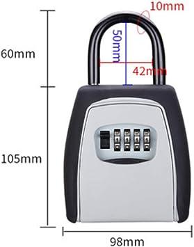 Caja de contraseña clave Caja de almacenamiento con candado ...