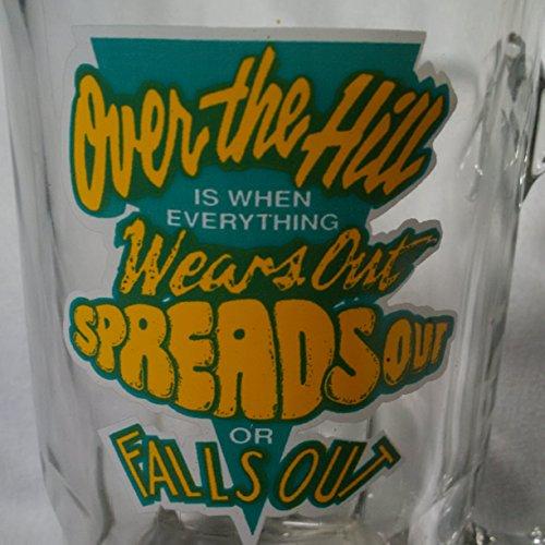 Large Pub BIRTHDAY NOVELTY Glass Beer Mug 8