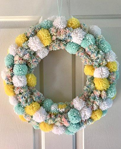 Yarn Wreath - 3
