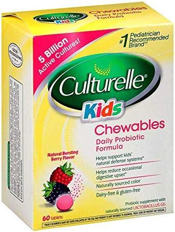 Culturelle Probiotic Supplement Pediatrician Recommended
