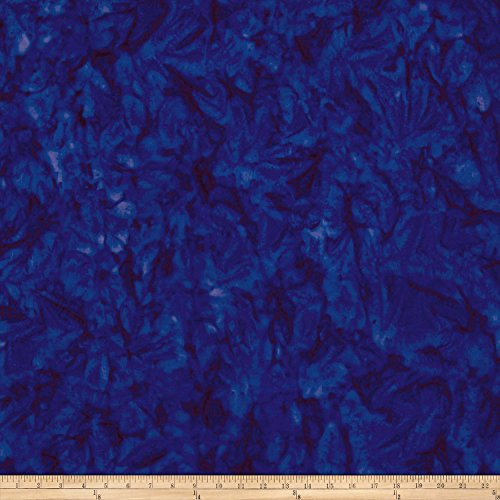 Anthology Batiks Lava Solid Blueberry Fabric by The -