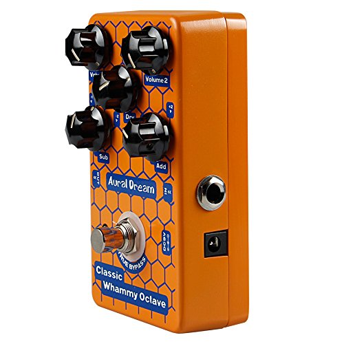 Aural Dream Classic Whammy Octave Guitar Effects Pedal with 2 Volume Knob Guitar Accessories