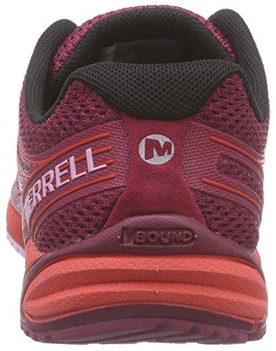 Merrell Womens Bare Access Arc 4 Trail Hardloopschoen Fel Rood