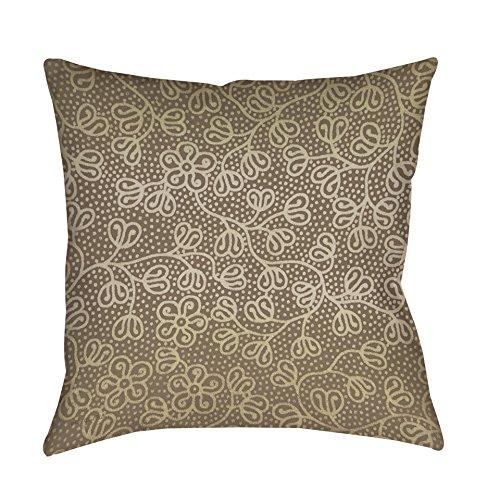 Thumbprintz Deer Elegance Filigree Decorative Pillow Oversized 26 x 26