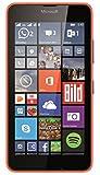 Microsoft Lumia 640 Dual-SIM Smartphone (5 Zoll (12,7 cm) Touch-Display, 8 GB Speicher, Windows 8.1) Neon Orange