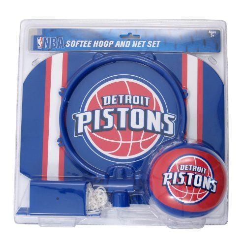 fan products of NBA Detroit Pistons Slam Dunk Softee Hoop Set