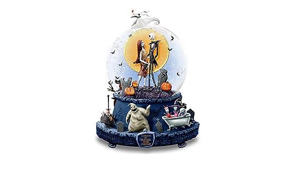 Disney La Pesadilla antes de Navidad Musical bola de nieve con base ...