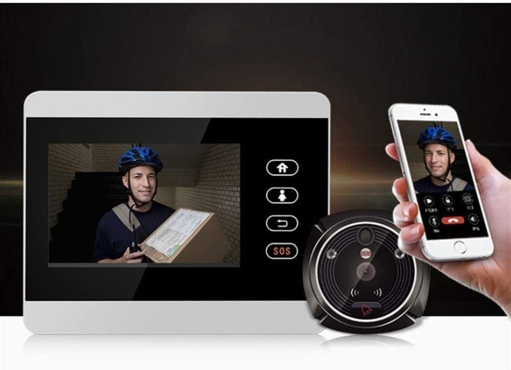 WiFi inalámbrico digital Visor mirilla de la puerta 4