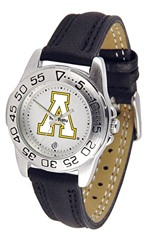 UPC 842542004555, Appalachian State Mountaineers ASU NCAA Womens Leather Wrist Watch