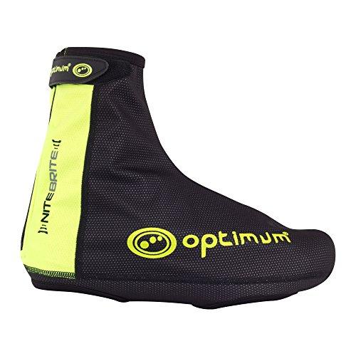 Optimum Nitebrite - Cubrezapatillas de ciclismo para hombre negro