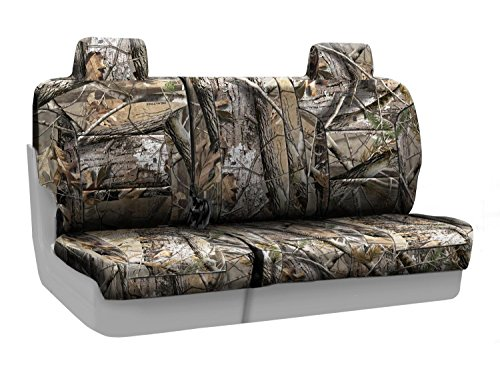 Coverking Rear 60/40 Bench Custom Fit Seat Cover for Select Jeep Compass Models - Neosupreme (Realtree AP Camo Solid)