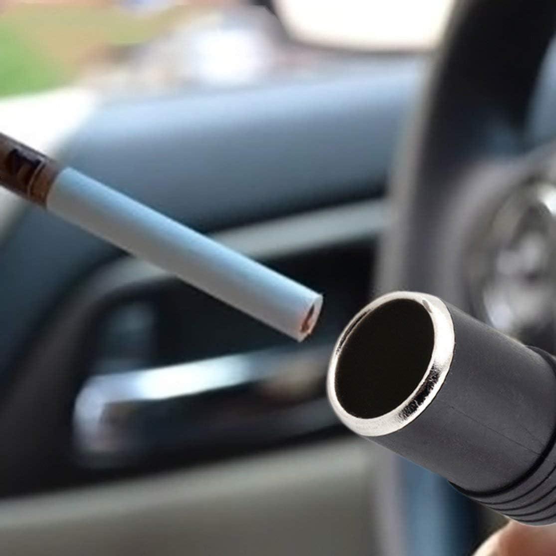 24 V Buchse Color:Black Universal DC Weibliche Auto Fahrzeuge Zigarettenanz/ünder Verl/ängerung Steckverbinder Netzteil Kabel 12 V
