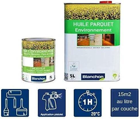 Aceite Ambientador Parquet, aspecto natural, Blanchon – 5 Lt