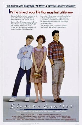 Sixteen Candles Movie Poster 11x17 Master Print