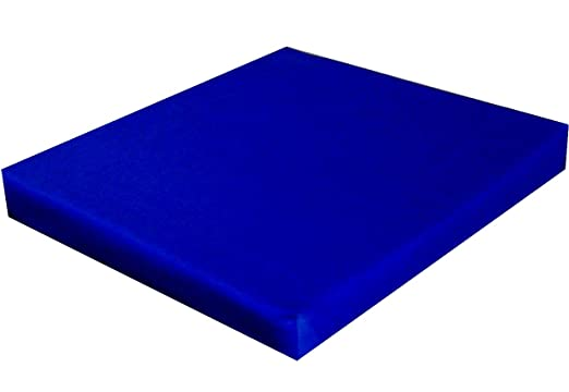 Aktivmed - Cojín viscoelástico, Azul, L 46 cm x B 42 x h 5 ...