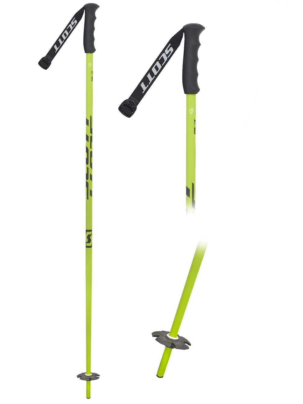 Childrens SCOTT Jr Team Issue Ski Poles