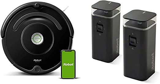 Amazon Com Irobot Roomba 675 Robot Vacuum With Dual Mode Virtual Wall Barrier 2 Pack