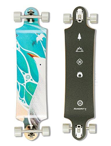 MINORITY Downhill Maple Longboard 40-inch Drop Deck (Seagull)