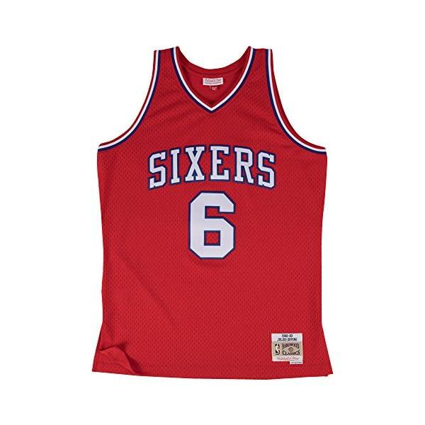 4b0feecbf4ea Mitchell   Ness Julius Erving Philadelphia 76ers  6 NBA Men s HWC ...