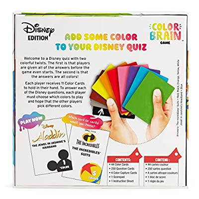 Disney Colorbrain, The Ultimate Board Game for Families who Love Disney: Toys & Games