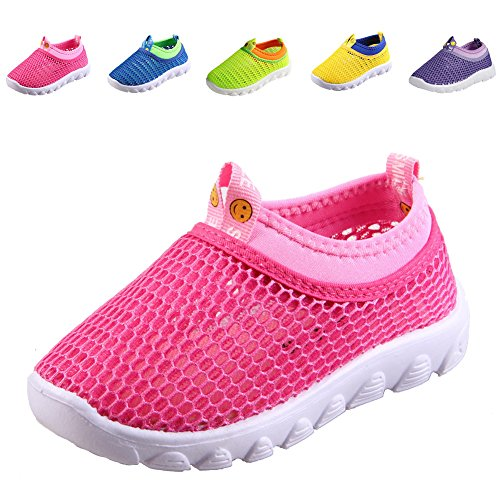 CIOR Kids Casual Shoes Breathable Slip-on Sneakers For Walking Running Toddler / Little Kid / Big (Little Girl Walking)