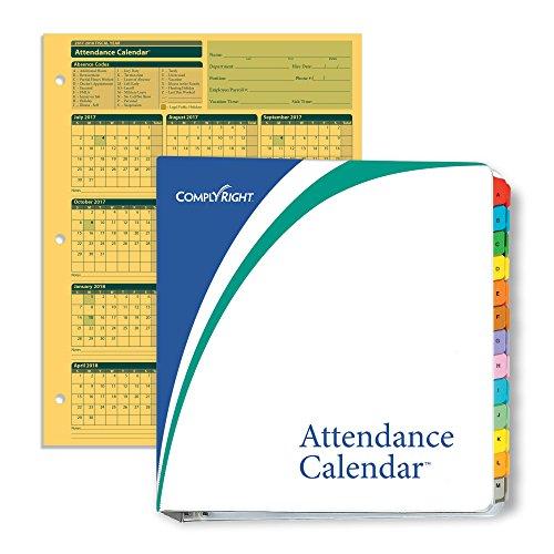 ComplyRight fiscal año calendario Kit de Asistencia, 2017–2018, Paquete de 50