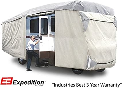 Traveler Series Class A RV Cover for 33-37 Trailers