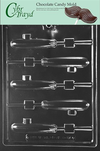 Cybrtrayd Life of the Party K154 Submarine Lolly Kids Chocolate Candy Mold in Sealed Protective Poly Bag Imprinted with Copyrighted Cybrtrayd Molding Instructions